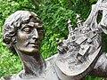 Detail of Sculpture of Marc Chagall - Outside Chagall House - Vitebsk - Belarus (27430076080).jpg