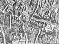 Detail plattegrond met Kerk naar een gravure in Smallegange - Middelburg - 20154564 - RCE.jpg
