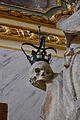 Detall de l'estàtua de sant Francesc de Borja, sant Joan del Mercat, València.JPG