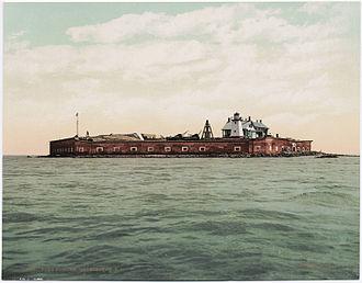 Fort Sumter - Fort Sumter, ca. 1900