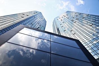 English: Deutsche Bank Twin Towers in Frankfur...