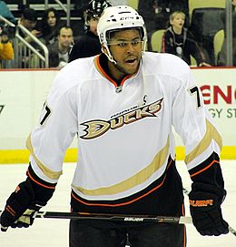 Smith-Pelly avec les Ducks d'Anaheim