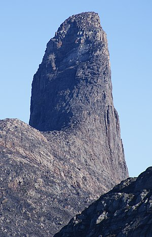 Devil's Thumb (Greenland) - Devil's Thumb seen from the southwest