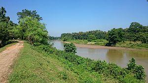 Dhalai River - Dhalai River near Kamalpur Tripura
