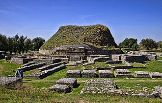 Taxila - The Dharmarajika Stupa