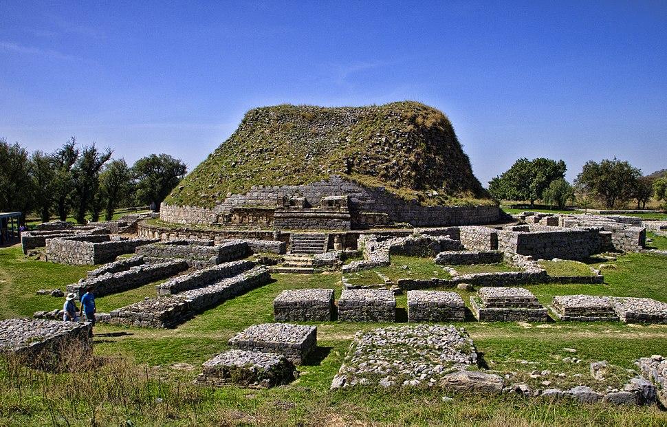 Dharmarajika stupa,Taxila