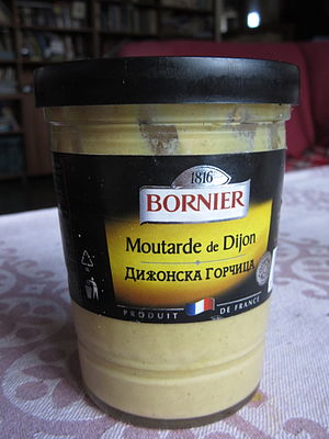 Mustard (condiment) - Dijon Mustard Exported to Bulgaria