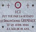 Dijon plaque commémorative Dragon Lionel GREMEAUX.jpg