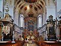 Dillingen Basilika St. Peter Innen Chor 2.jpg