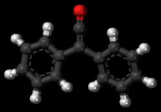 Diphenylketene - Image: Diphenylketene 3D balls