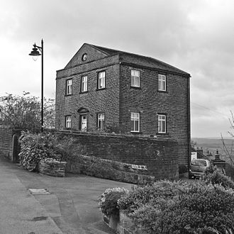 George Lloyd (archaeologist) - Dissenters' Chapel, Thurstonland, where Lloyd preached