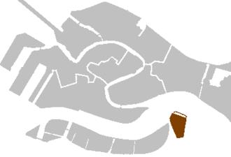 San Giorgio Maggiore - Image: Districts venice san giorgio maggiore