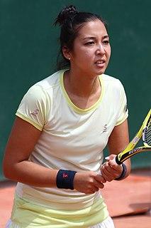 Zarina Diyas Kazakh tennis player