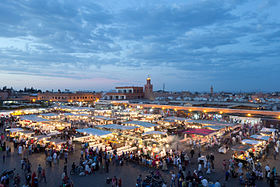 image illustrative de l'article Place Jemaa el-Fna