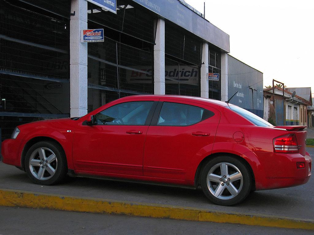 File Dodge Avenger SXT 2 0 CRD 2008
