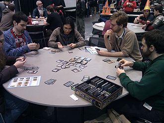 Dominion (card game) - A game of Dominion in progress at the 2011 PAX East exposition
