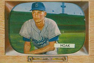 Don Hoak - Image: Don Hoak Bowman