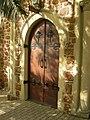 Door to St Johns Lutheran church Perth in 2006.jpg