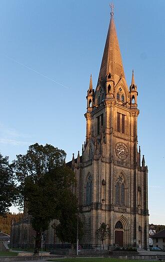 Doubs, Doubs - Image: Doubs church