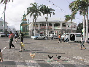 Downtown Basseterre, St. Kitts