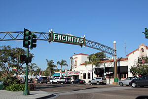 Encinitas, California - Downtown Encinitas, California
