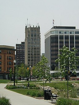 Downtown Jackson, Michigan