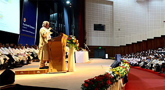 A. P. J. Abdul Kalam - Kalam addresses engineering students at IIT Guwahati