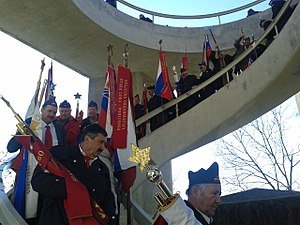 Battle of Dražgoše - 2014 commemoration