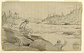 Drawing, Men Fishing with a Rod and Net, ca. 1897 (CH 18174541).jpg