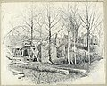 Drawing, Present Aspect of Gaines's Mill, Looking East, 1885 (CH 18607037).jpg