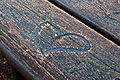 Drawing of a heart on iced wood.jpg