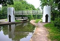 Drayton bridges, Birmingham and Fazeley Canal.jpg
