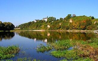 Drohiczyn - Castle hill in Drohiczyn