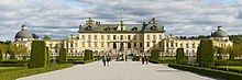 Drottningholm: Front view of the palace.