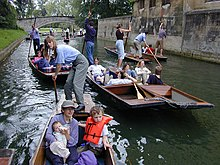 Punt (boat) - Wikipedia, the free encyclopedia