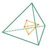 Duality of tetrahedron
