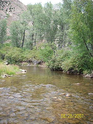 Duchesne River - Headwaters of the Duchesne River