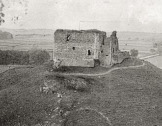 Dundonald Castle - Dundonald Castle in 1903.