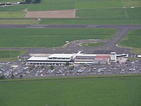 Dunedin Airport From the air.JPG