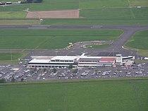 Dunedin Airport From the air.JPG