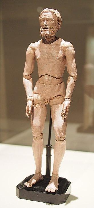 Mannequin - A lay figure by Albrecht Dürer in the Prado Museum.
