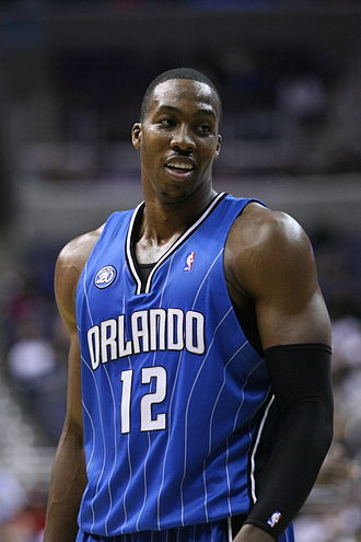 NBA Defensive Player of the Year Award - Dwight Howard has won the award three consecutive times in his career.