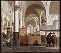 E. de Witte - Interieur van de Oude Kerk te Amsterdam - NK2503 - Cultural Heritage Agency of the Netherlands Art Collection.jpg
