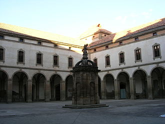 University of Cervera - Main patio of the former building