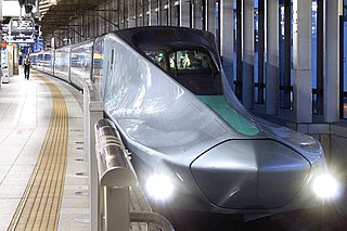 ALFA-X Experimental Japanese high-speed shinkansen trainset