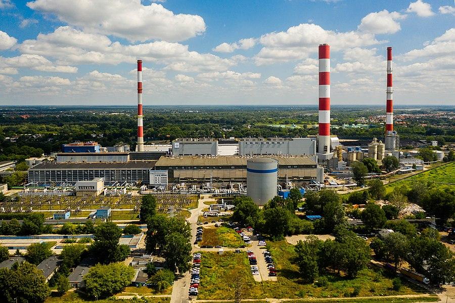 Siekierki Power Station