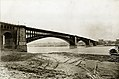 Eads Bridge from the Illinois side, completed. July 1874.jpg