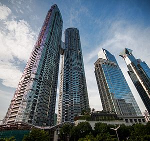 East Pacific Center - Image: East Pacific Center Towers (1)