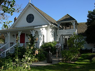 Eastsound, Washington - Emmanuel Episcopal Church (Eastsound, Washington) Constructed 1885, listed on the National Register of Historic Places.