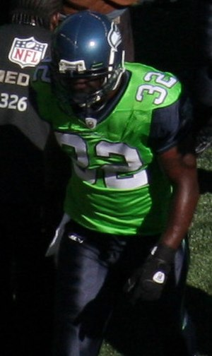 Edgerrin James - James with the Seattle Seahawks in 2009.